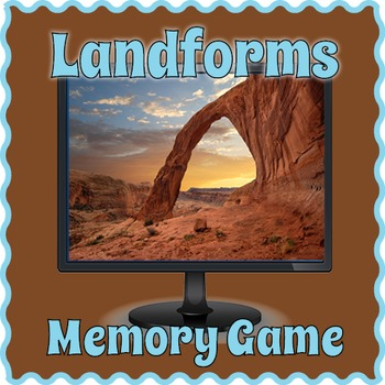 Landforms Game for PC and Smartboard