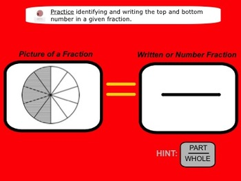 Smartboard Lesson - Intro to Fractions