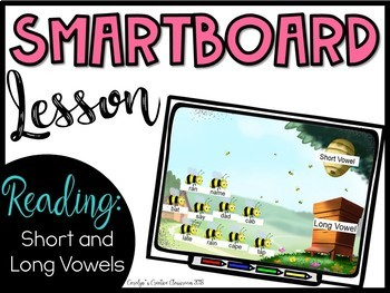 Smartboard Lesson - Short and Long Vowels Games