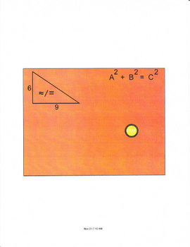 Smartboard Lesson for Teaching the Pythagorean Theorem