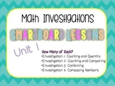Smartboard Lessons for Unit 1 Math Investigations
