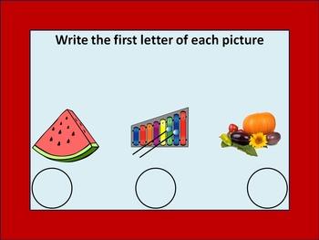 Smartboard Letters