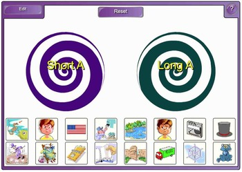 Smartboard Literacy Centers (beginning sounds, vowels, rhyming and more)