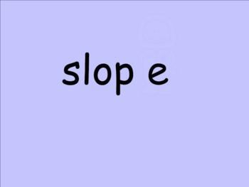 Smartboard Long Vowel CVCe