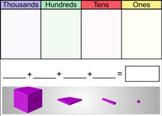 Smartboard Manipulatives: Base Ten Blocks