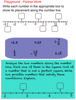 Smartboard Math Lessons - Rational and Irrational Numbers