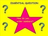 (Smartboard Math) Number Sense: Ordering Numbers to 20