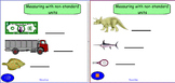 Smartboard: Measuring with Non-Standard Units