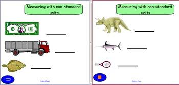 Smartboard: Measuring with Non-Standard Units