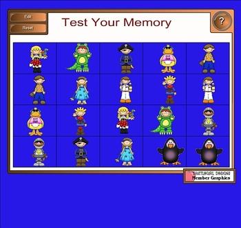 Smartboard Memory Game