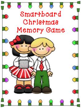 Smartboard Memory Game Christmas Holiday