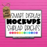 Smartboard Mockups Interactive White Board Clipart | Brights