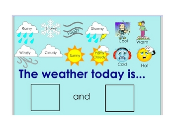 Smartboard Morning Calendar Routine