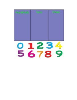 Smartboard Morning Meeting Place Value Number of the Day