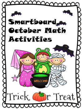 Smartboard October Calendar Activities