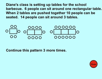 Smartboard:  Patterning Questions (Game Version)