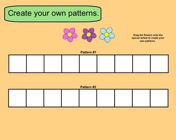 Smartboard Patterning for Kinder