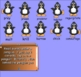 Smartboard Penguin Vocabulary Activity