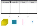 Smartboard Place Value Blocks w/ Place Value Chart