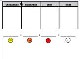Smartboard Place Value Disks w/ Place Value Chart