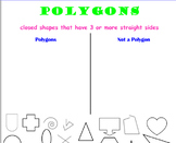 Smartboard Polygon Sort