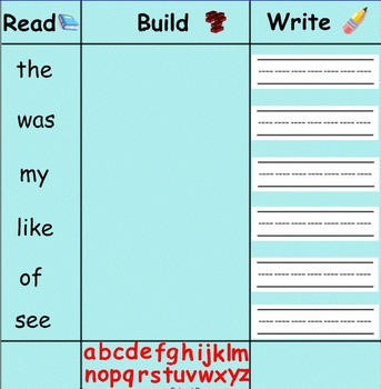 Smartboard: Read Build Write
