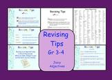 Smartboard:  Revising Tips (Includes Revising Checklist)