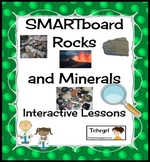 Smartboard Rocks and Minerals Interactive Lessons