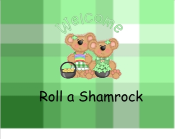 Smartboard Roll a Shamrock  Center or Group Activity