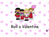 Smartboard Roll a Valentine Center or Group Activity