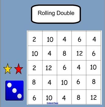 Smartboard: Rolling Doubles
