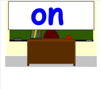 Saxon Phonics First Grade Spelling Lists 1-25 for Smartboard