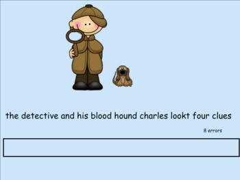 Smartboard Sentence Editing