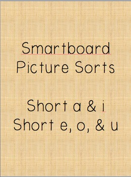 Smartboard Short vowels