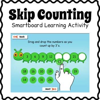 Smartboard Skip Counting Game