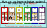 Smartboard Slides for Daily 5 Center Rotation