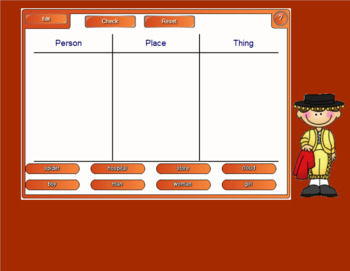 Smartboard Sorting Activities
