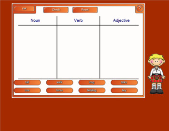 Smartboard Sorting Activities