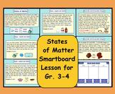 Smartboard: States of Matter (Solids, Liquids, Gases)