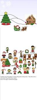 Smartboard Story Writing Activity Christmas Theme