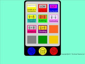 Smartboard Teachers Edition for 6th Grade Math Teachers