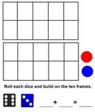 Smartboard: Tens Frame Addition