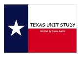 Smartboard Texas Unit-maps, symbols, songs, interactive-HUGE!
