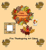Smartboard:  Thanksgiving Craft Ideas