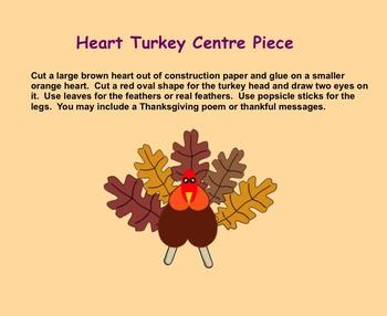 Smartboard:  Thanksgiving Craft Ideas
