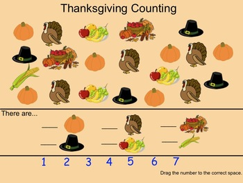 (Freebie) Smartboard: Thanksgiving Primary Activities