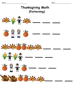 Smartboard:  Thanksgiving Primary Math (Numeration, Patterning, Addition) Gr 1/2