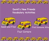 Smartboard Treasures 2nd Grade 1.1 David's New Friends Voc