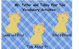 Smartboard Treasures 2nd Grade 1.2 Mr. Putter Vocabulary