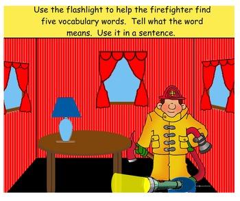 Smartboard Treasures 2nd Grade 1.3 Fighting the Fire